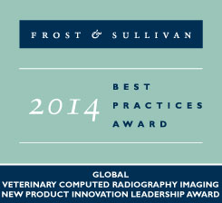 Frost and Sullivan - Best Practice Award - New product innovation leadership award