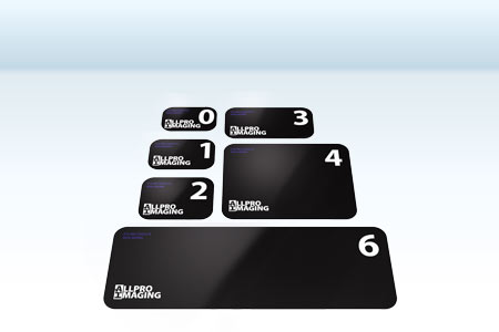 ScanX Duo - Accessorie - Dental Image plates Sizes S0 - S6