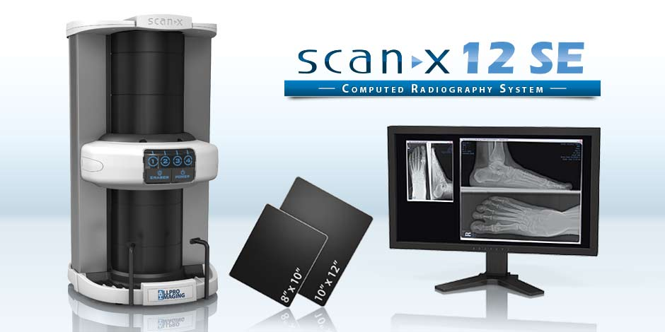 ScanX 12 SE - Computed Radiography system - The podiatric digital solution you've been waiting for.