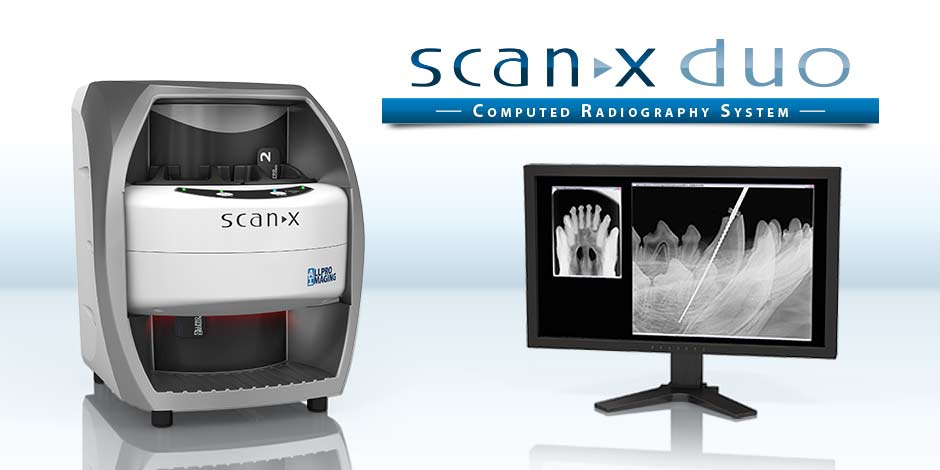 ScanX Duo - CR System VET - Dental imaging