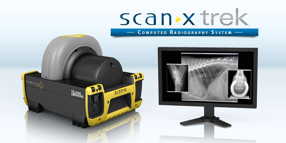 ScanX Trek - portable CR System for the mobile equine practice -