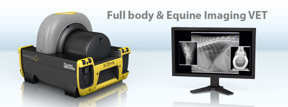 ScanX Trek - CR System - Full Body & Equine Imaging VET - Portable and lightweight for rugged field applications